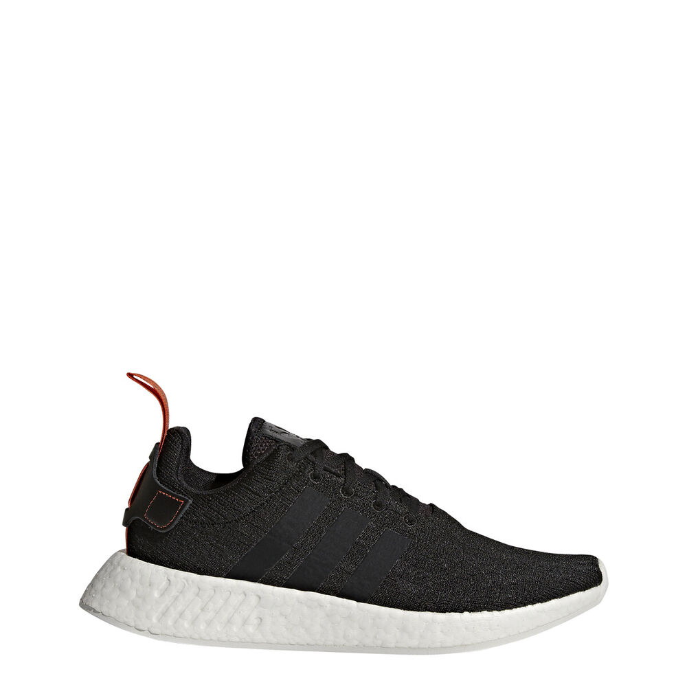 0318d671423ce MEN S ADIDAS ORIGINALS NMD R2 SHOES CG3384 BLACK  WHITE