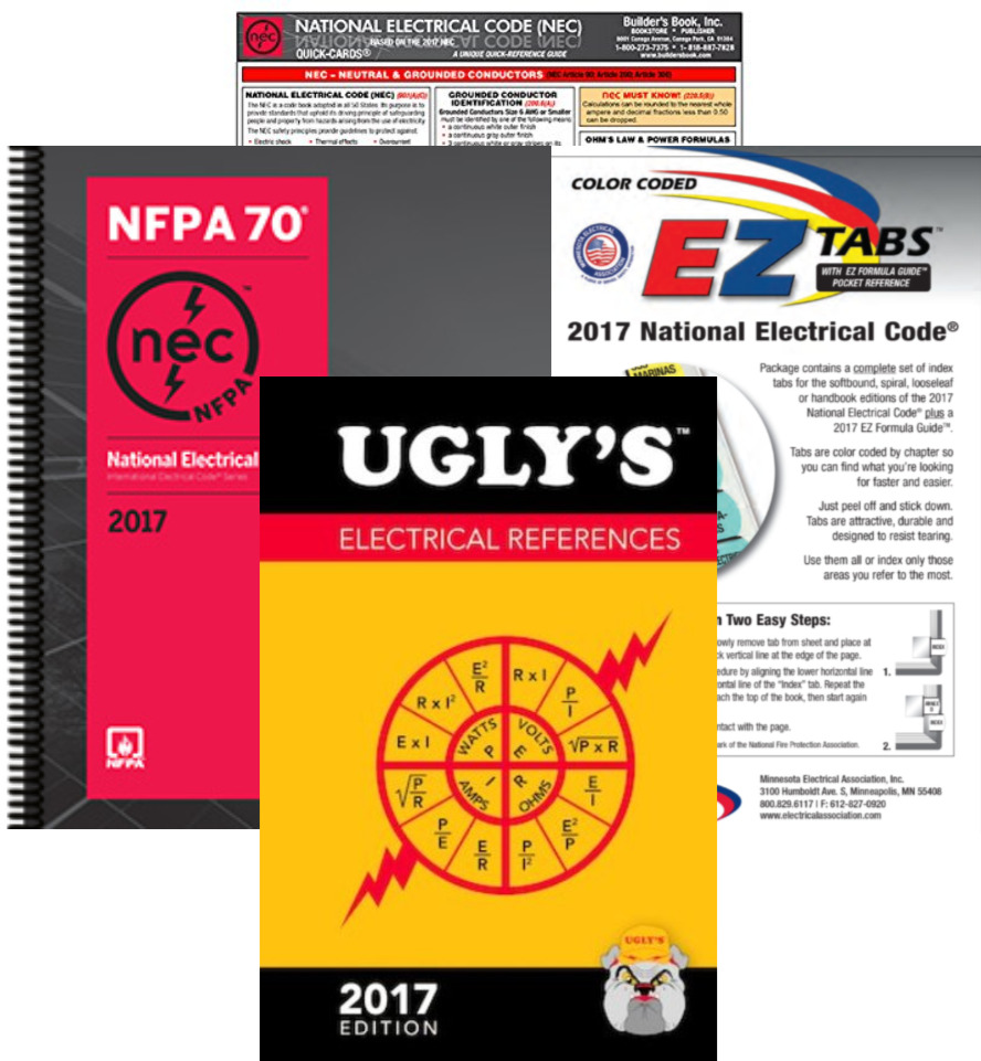 NFPA 2017 : National Electrical Code (NEC) Spiral-bound EZ Package ...