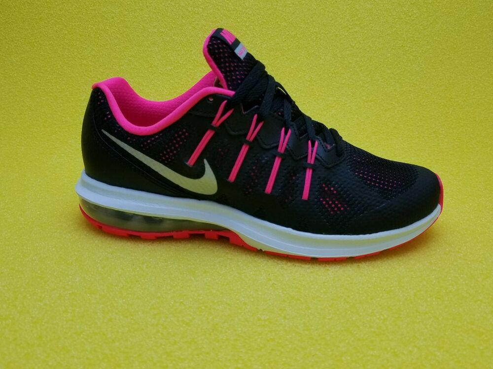 separation shoes 3d151 81d90 Details about NIKE AIR MAX DYNASTY GS BLACK SILVER PINK 1 90 95 MUSE WOMEN  GIRLS YOUTH SIZES