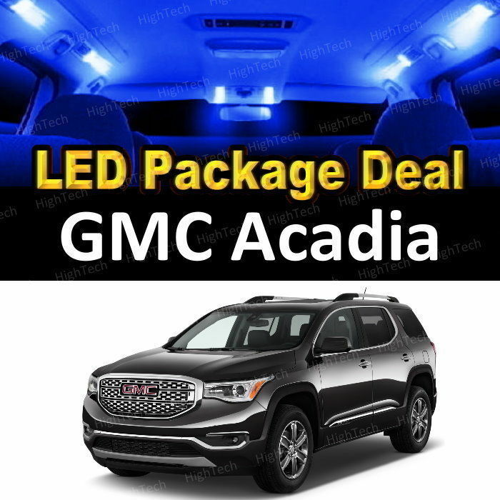 For 2010 2011 2012 GMC Acadia LED Lights Interior Package