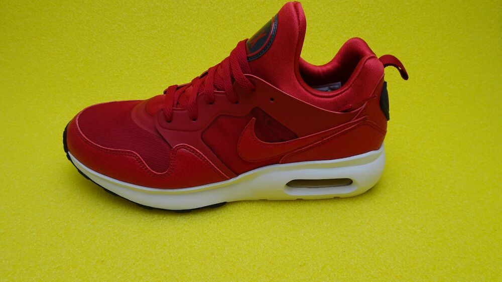 Men's Nike Air Max Prime Running Shoes Gym Red/Anthracite NIB 876068-600 FAST FR