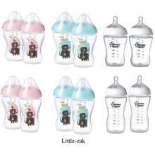 ULTRA Tommee Tippee feeeding Bottles Blue / Pink / Clear / 150ml / 260ml / 340ml