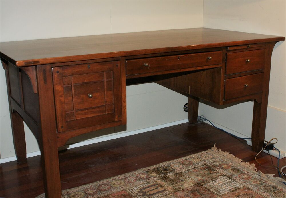 Bob Timberlake Cherry Desk Arts Crafts Lexington Furniture 611 934 64 X 32