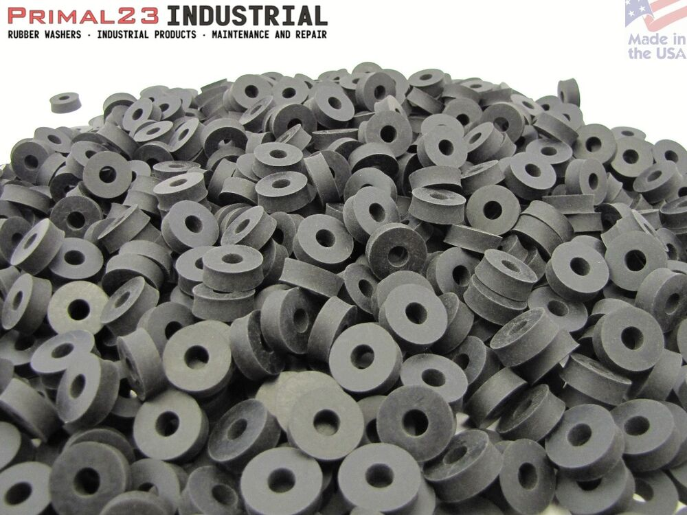 Thick Rubber Washers - Neoprene Rubber Washers - 3/4 OD X 1/4 ID X 1 ...