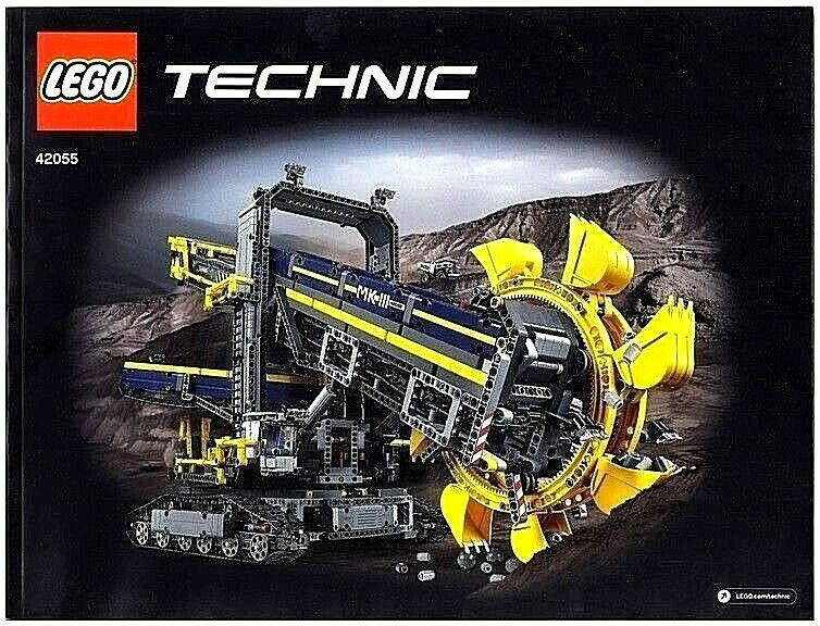 Instructions Only For Lego Technic Bucket Wheel Excavator 42055