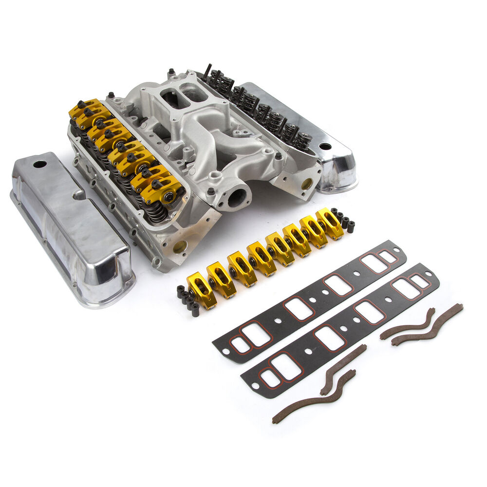 Ford SB 289 302 Hyd FT Cylinder Head Top End Engine Combo