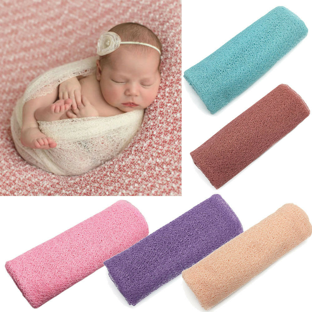 Details about newborn baby girl boy hollow wraps blanket posing swaddle cover photography prop