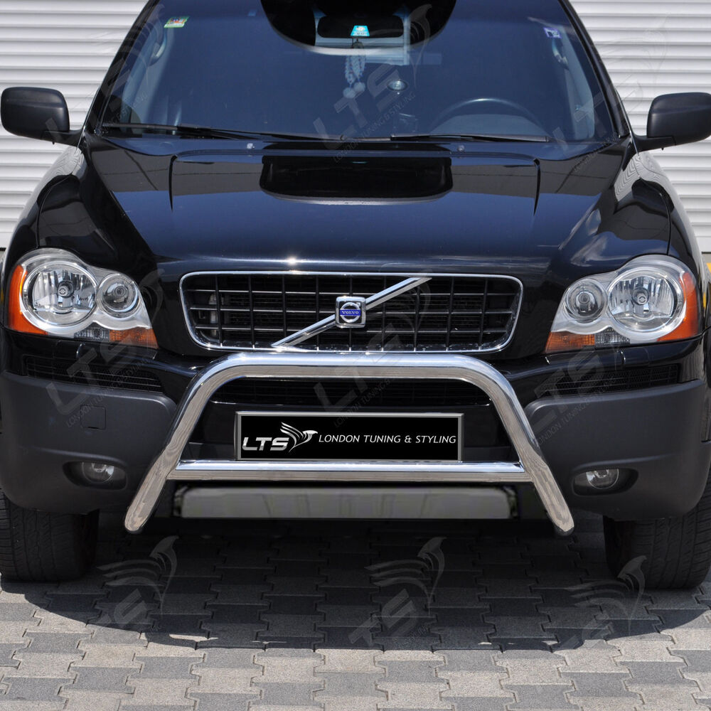 Volvo Xc90 2014 Price: VOLVO XC90 CHROME NUDGE A-BAR, STAINLESS STEEL BULL BAR