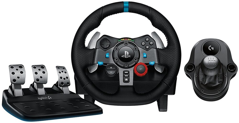 8c2a032901a Details about Logitech G29 Driving Force Race Wheel PS4 + Logi G Driving  Force Shifter Bundle