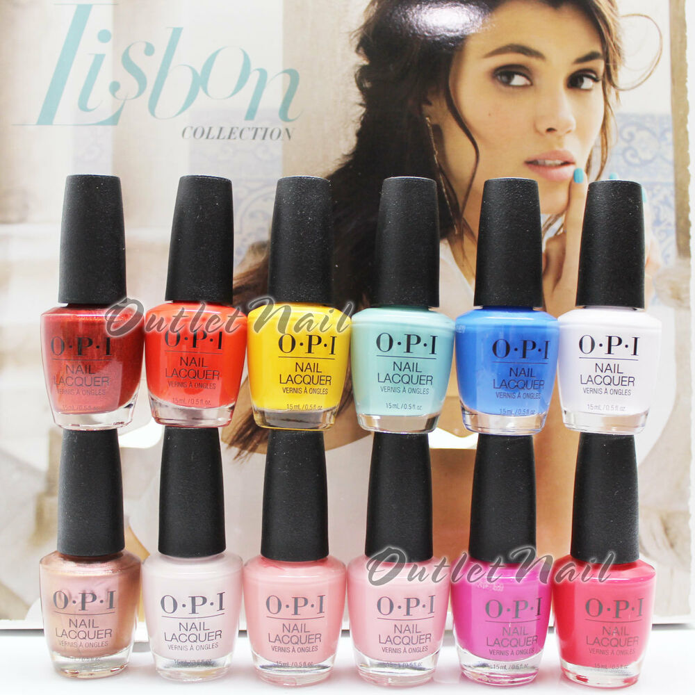 OPI Nail Polish Lacquer LISBON Collection SPRING SUMMER