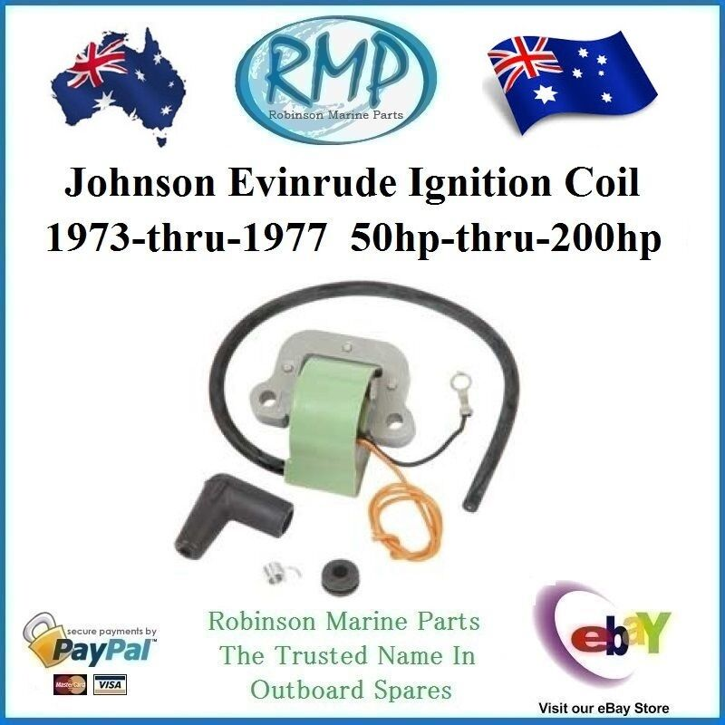 A Brand New Johnson Evinrude Ignition Coil 1973