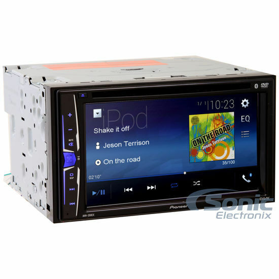 "Pioneer AVH-200EX Double DIN 6.2"" Touchscreen Bluetooth"