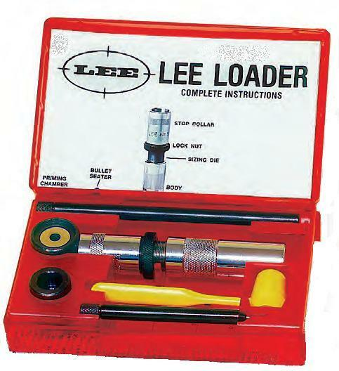 Lee hand loader 30-30 with instructions charge table reloading.
