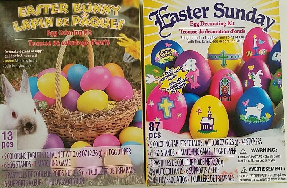 Easter Egg Coloring & Decorating kits, Select Type | eBay