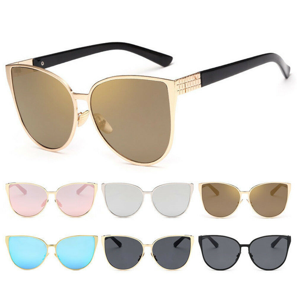 62c860279f Details about Vintage Women Cat Eye Sunglasses Shades Oversized Designer Glasses  Eyewear hot