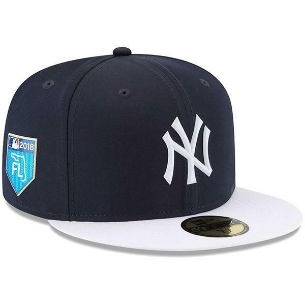 af4f0e3e9bee0 Details about Official 2018 MLB Spring Training New York Yankees New Era  59FIFTY Fitted Hat