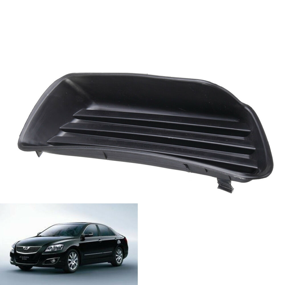 Details About Front Right Per Fog Light Grille Grill Cover For Toyota Camry Hybrid 07 09