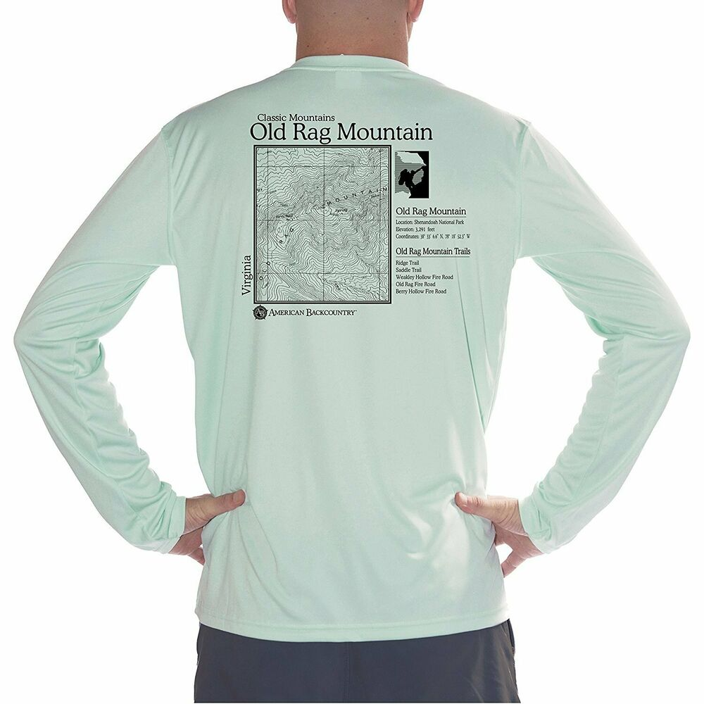 71bef345c31 Details about Old Rag Mountain Men s UPF 50+ UV Sun Protection Long Sleeve T -Shirt