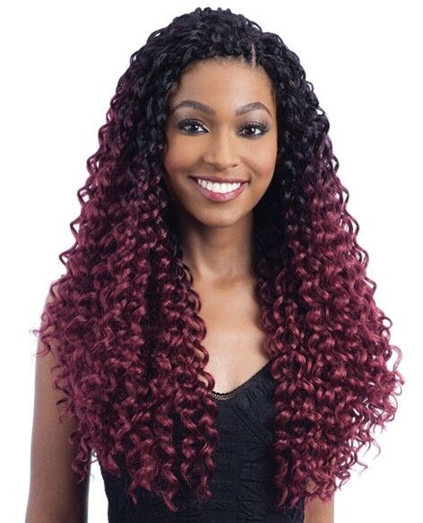 braid styles with synthetic hair cocoa curl freetress synthetic crochet braid ebay 8076 | s l1000