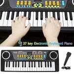 37-Key Digital Music Piano Keyboard - Portable Electronic Musical Instrument