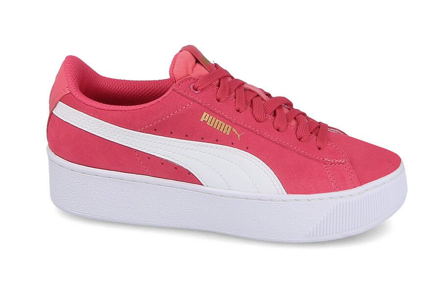 SCARPE DONNA/JUNIOR SNEAKERS PUMA VIKKY PLATFORM JR 366485 01