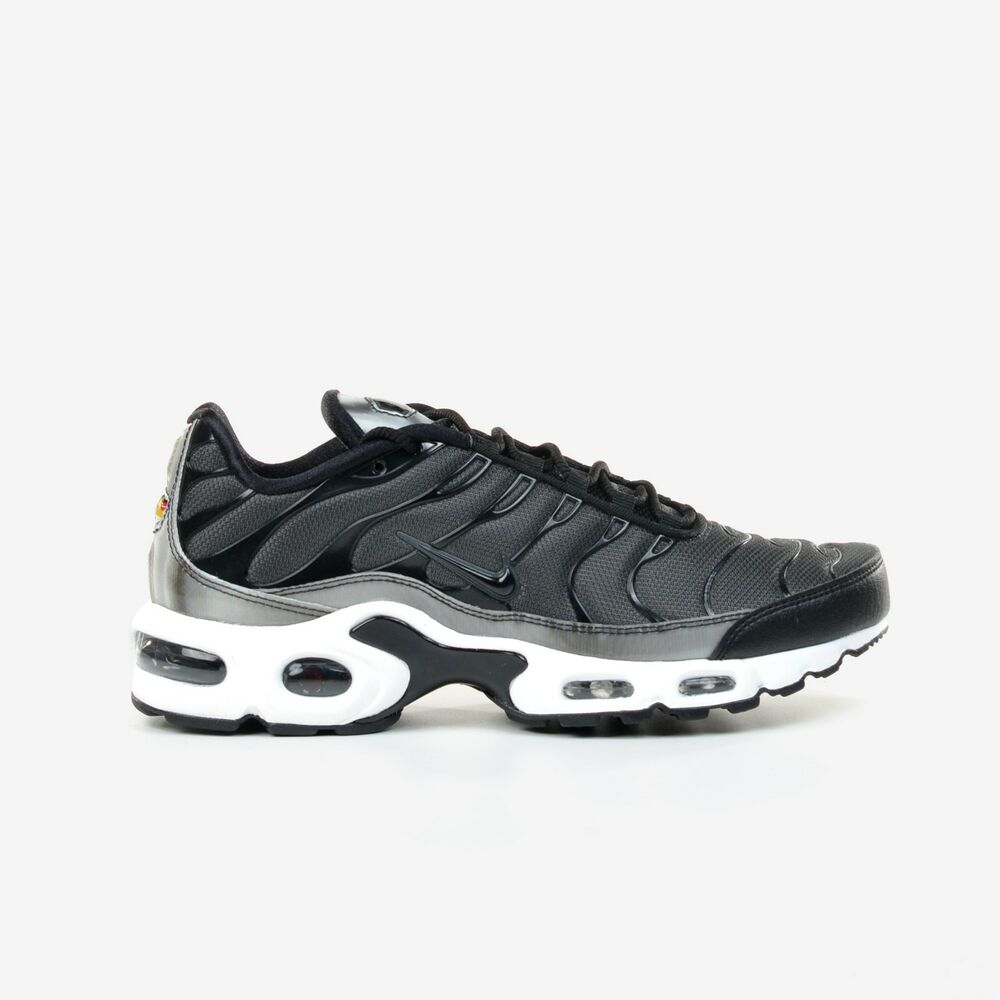 purchase cheap a06f0 d3765 Details about Nike Women s Air Max Plus SE Black Anthracite White Running  Shoes 862201-003