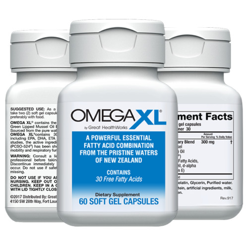 OmegaXL 60 ct. by Grea...
