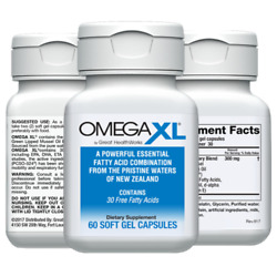Kyпить Omega XL 60ct by Great HealthWorks: Small, Potent, Joint Pain Relief - Omega-3 на еВаy.соm