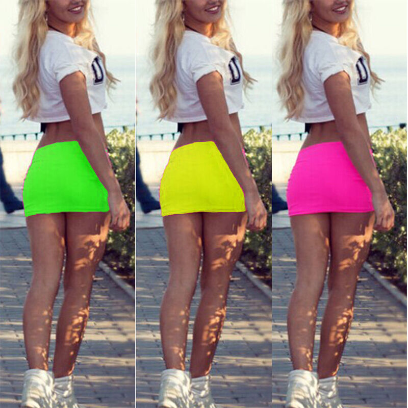 Us Sexy Short Women Mini Skirt Dress Slim Tight Short -4608