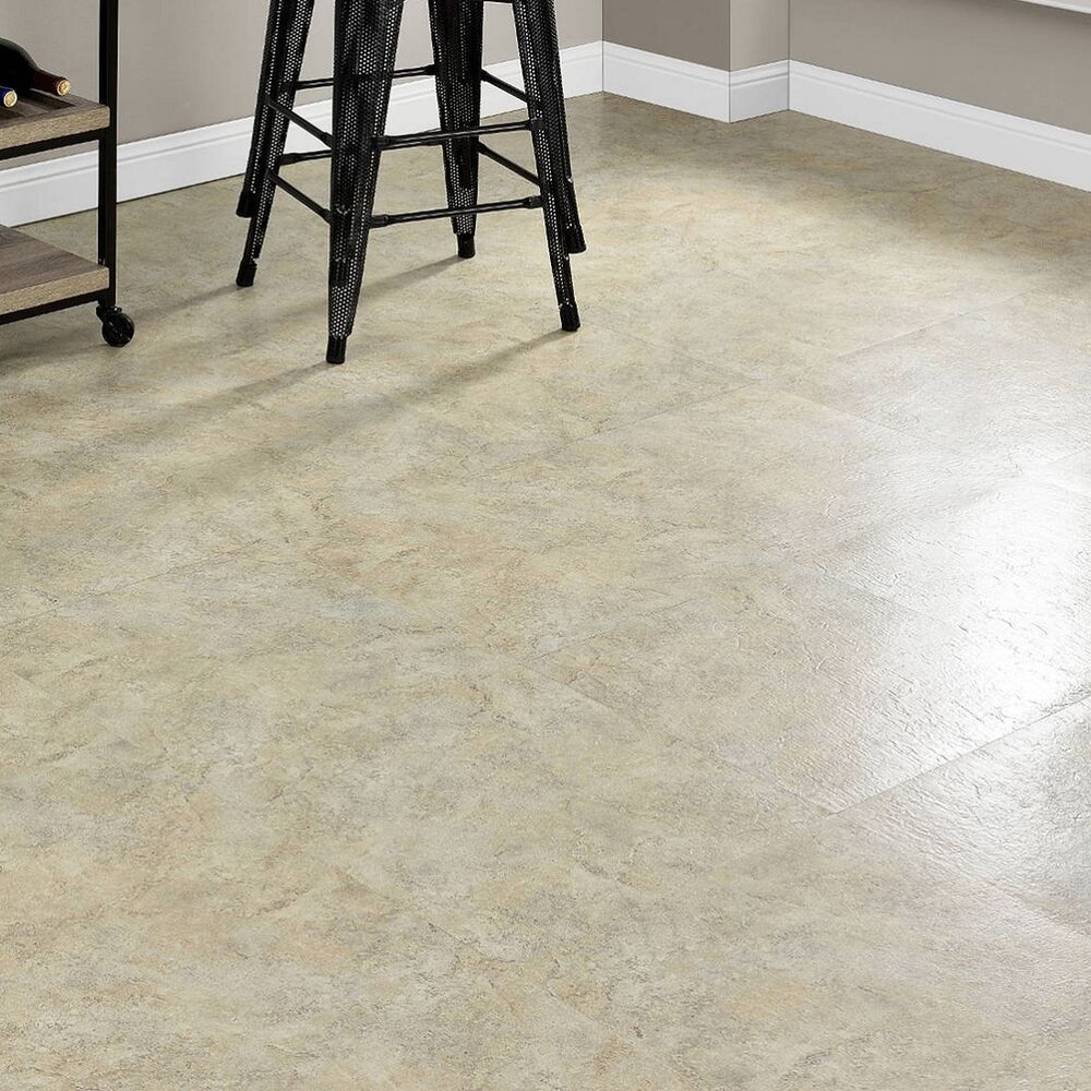 Vinyl Floor Tiles Self Adhesive Peel And Stick Large Beige