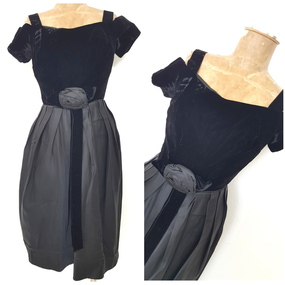 b088c3d5f5f Vintage 50s Cocktail Party Dress - Gomes Weine AG