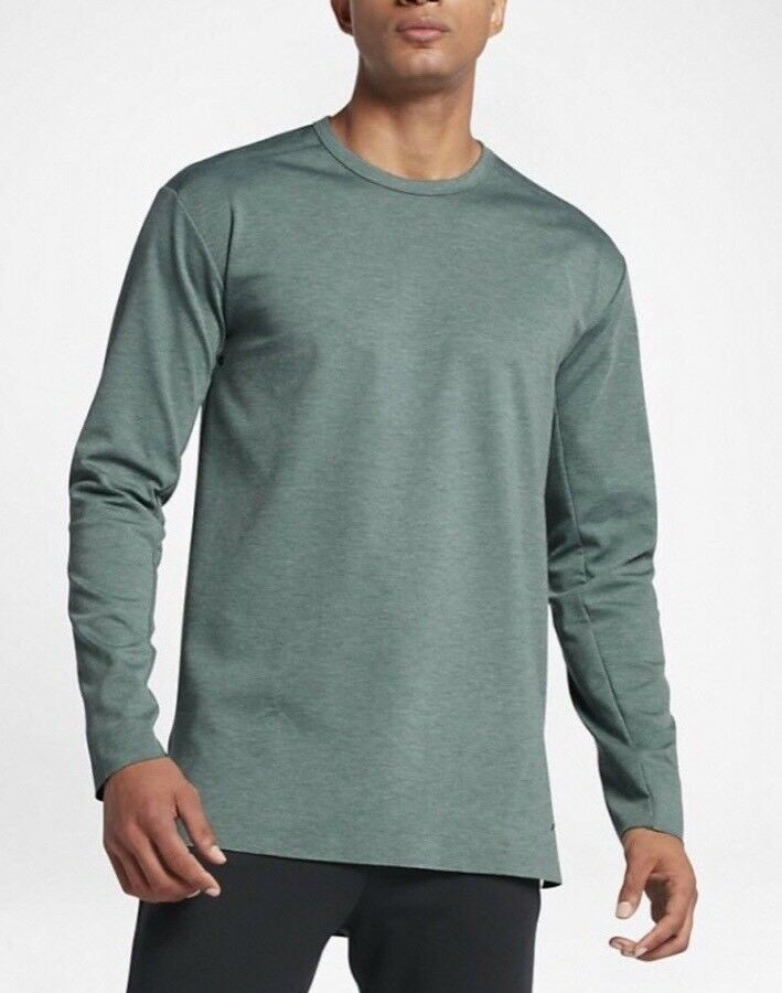 adff0019599bbf Details about Nike Jordan 23 Lux Extended Men s Long Sleeve Top - 810836 349