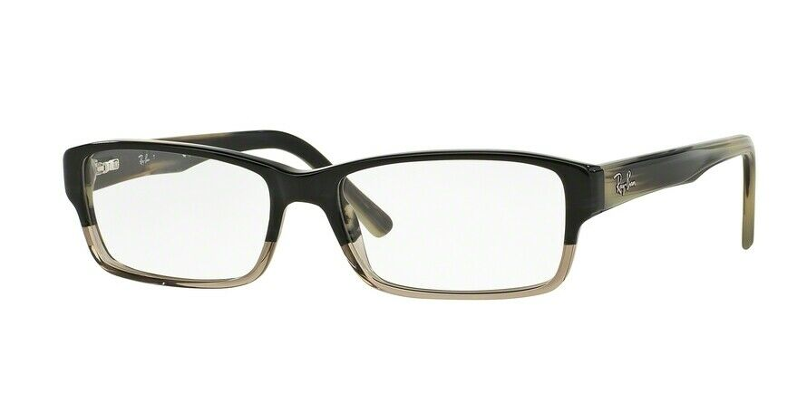 5ced76788d2 Details about Ray-Ban RX5169 5540 52mm Grey Horn Grad Trasp Grey Eyeglasses