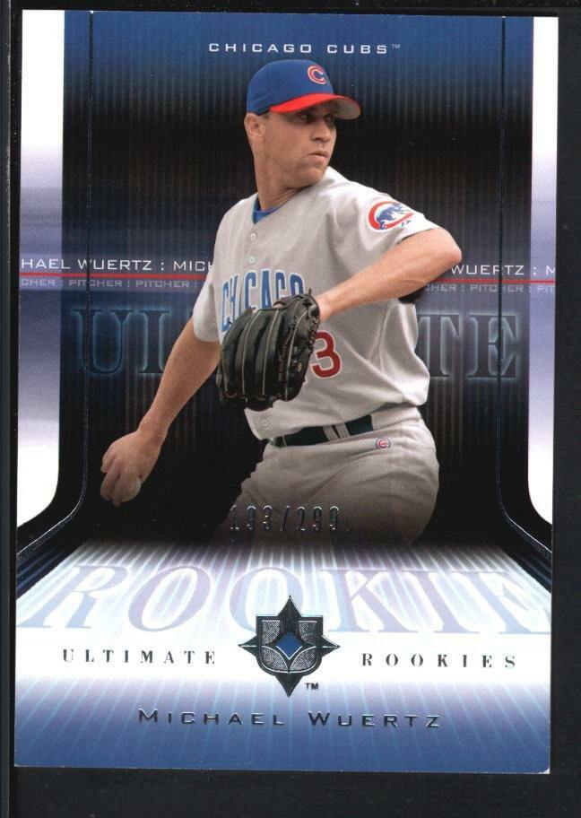 Michael Wuertz 2004 Ud Ultimate Collection 183 Rc Rookie