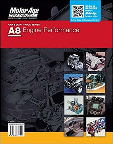 A8 Ase Motor Age Study Guide Test Engine Performance Ebay