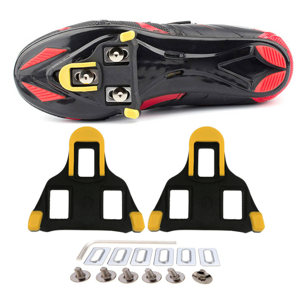 4652dcf93d34 Details about Road Bike Cycling Self-locking Pedal Cleats Set Suit For  Shimano SM-SH11 SPD-SL