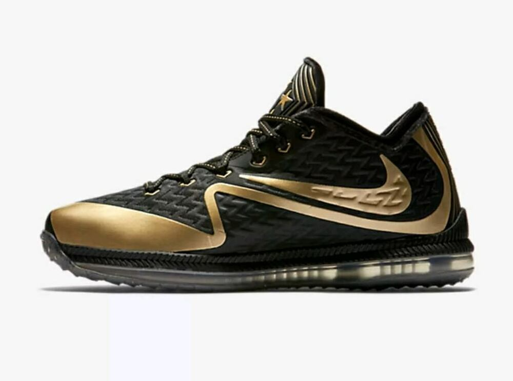 aab9af72b55 Details about nike field general superbowl black gold size shoes jpg  1000x743 Nfl gold shoes
