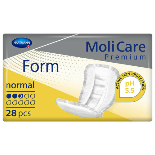 1x MoliCare Premium Form - Normal - Pack of 28 - 1249ml