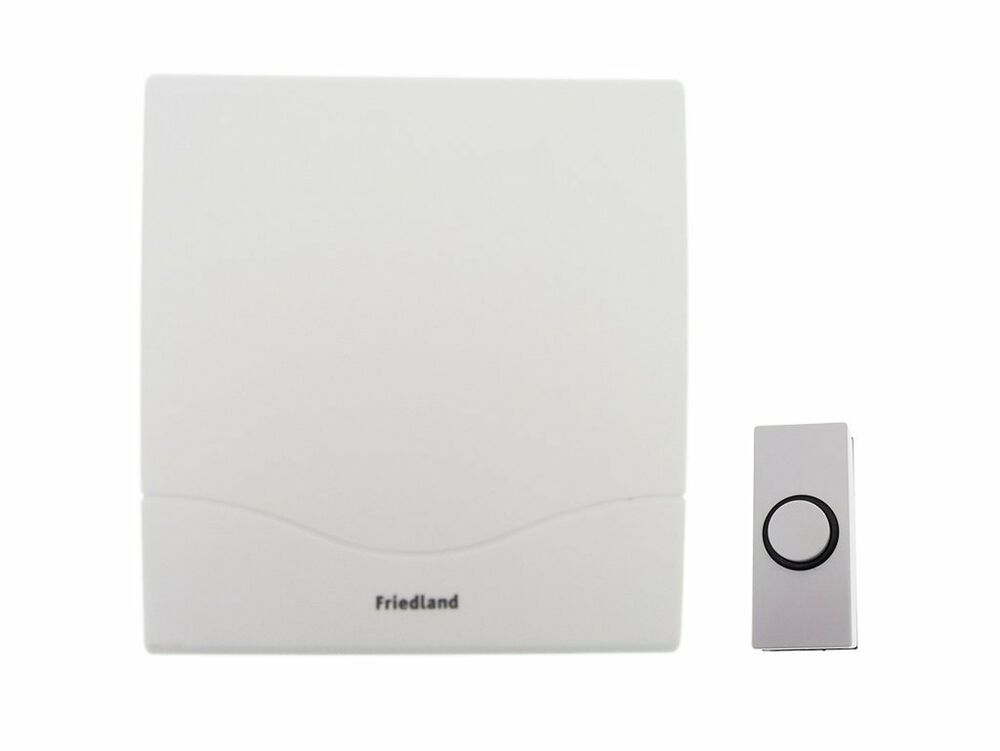 friedland d142m mechanical mini wired door chime kit with. Black Bedroom Furniture Sets. Home Design Ideas