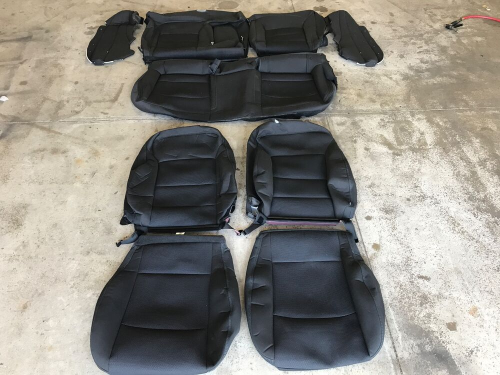 Chevy Cruze Seat Covers >> FACTORY OEM REPLACEMENT CLOTH SEAT COVER COVERS CHEVROLET CRUZE LT 2016 2017 | eBay