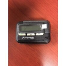 NEW MOTOROLA MEMO EXPRESS UHF ALPHANUMERIC PAGER WITH HOLSTER