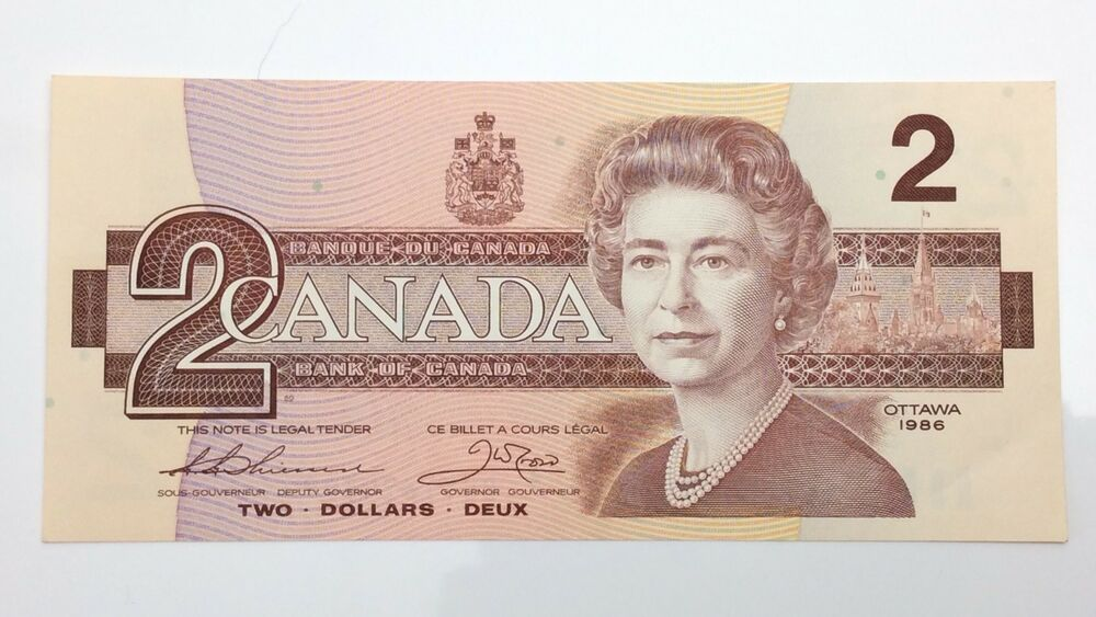 1973 Canada 1 One Dollar ECR Canadian Uncirculated Consecutive Banknotes I421