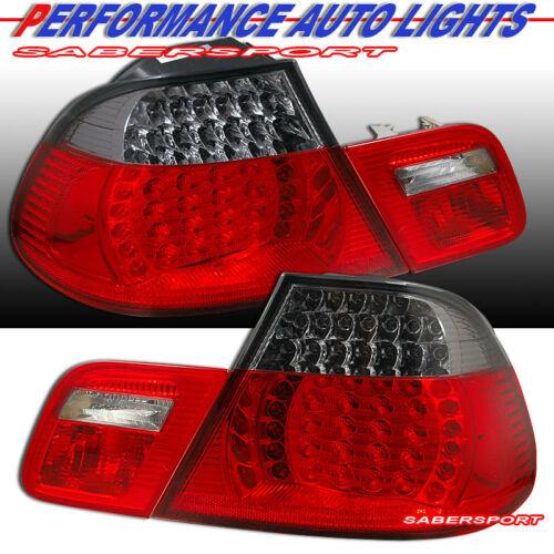 set-of-red-smoke-led-taillights-4pcs-for-20002003-bmw-e46-3series-2dr-coupe