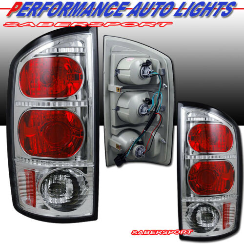 set-of-pair-chrome-taillights-for-20022005-dodge-ram-1500-0306-2500-3500