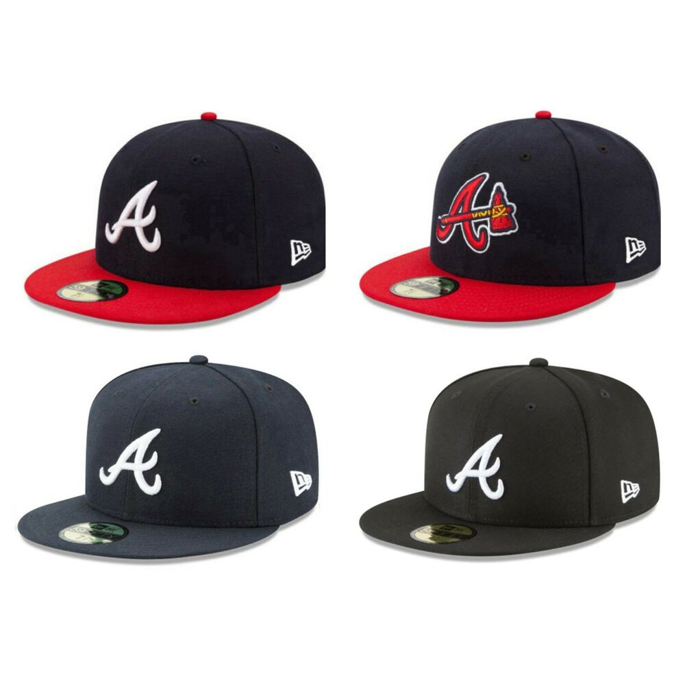 Details About Atlanta Braves ATL MLB Game Authentic 59FIFTY Fitted Cap
