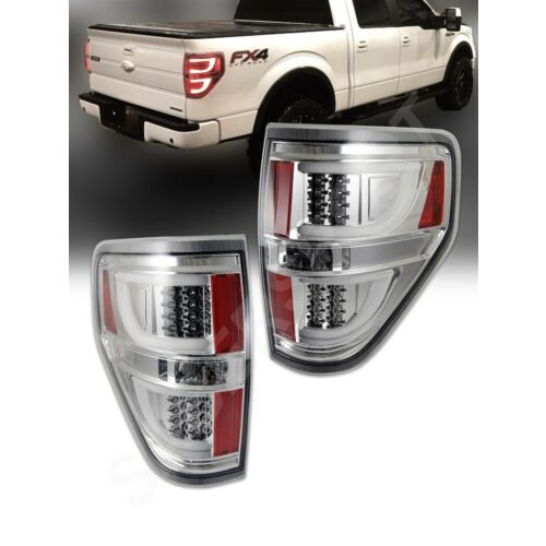 set-of-pair-chrome-clear-g2-led-taillights-for-20092014-ford-f150