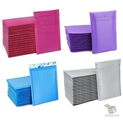 Kyпить ANY SIZE POLY BUBBLE MAILERS SHIPPING MAILING PADDED BAGS ENVELOPES COLOR на еВаy.соm