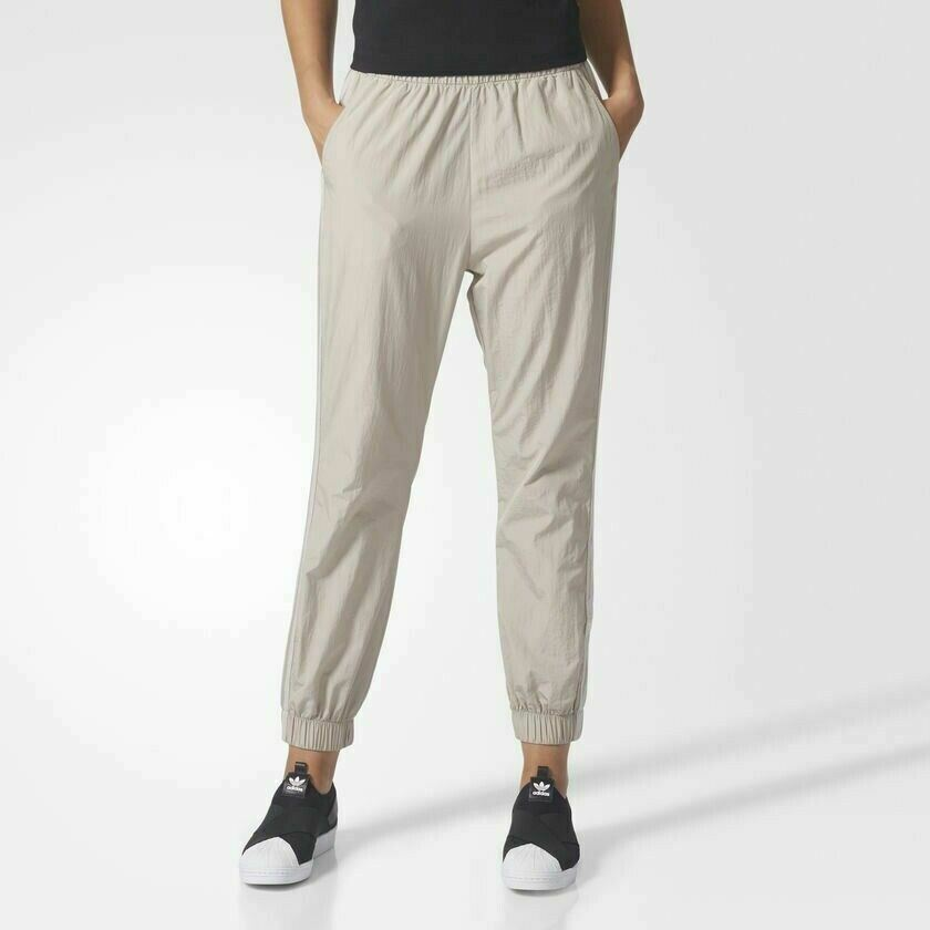 Details about  CE4170  Womens Adidas Originals Adibreak TP Track Pants -  Light Brown d5833f43fda