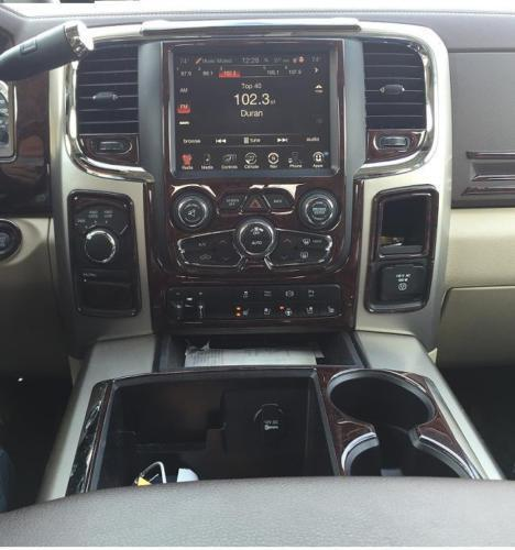 Dodge Ram 1500 2500 3500 Interior Burl Wood Dash Trim Kit Set 2013 2014 2015 Ebay