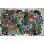 Jewelry Lot 12+ Pounds Bead Beaded Necklaces Bracelets Resell Craft Scrap Sell